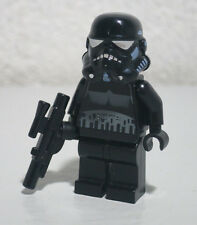 Shadow Trooper Star Wars Black Storm 7667 7664 Gun Lego Minifigure Mini Figure