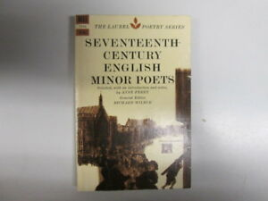 Good  Seventeenth Century English Minor Poets  Wilbur Richard edt 1964010 - Ammanford, United Kingdom - Good  Seventeenth Century English Minor Poets  Wilbur Richard edt 1964010 - Ammanford, United Kingdom