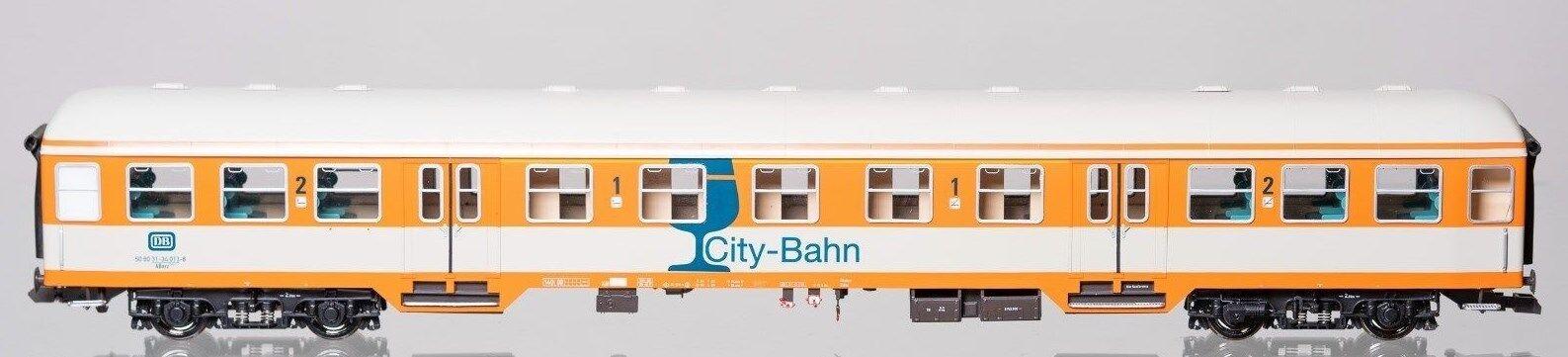 Kiss 1 Gauge Passenger Car City Train 1 2. Class New Condition Ob