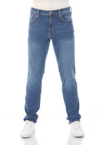 Mustang-Herren-Jeans-Washington-Slim-Fit-Blau-Medium-Blue-W30-W48-Cotton