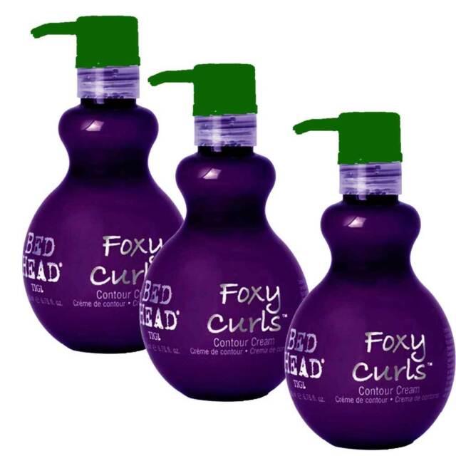 foxy curls  3 X TIGI Bed Head Foxy Curls Contour Cream - 200ml   eBay