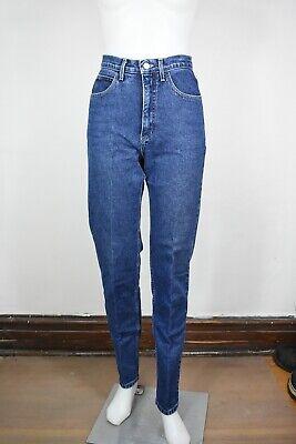 Vendita Economica Vintage Guess Jeans 26 X 31/32 Affusolato 80's 90's Made In Usa Denim Blu Garanzia Al 100%