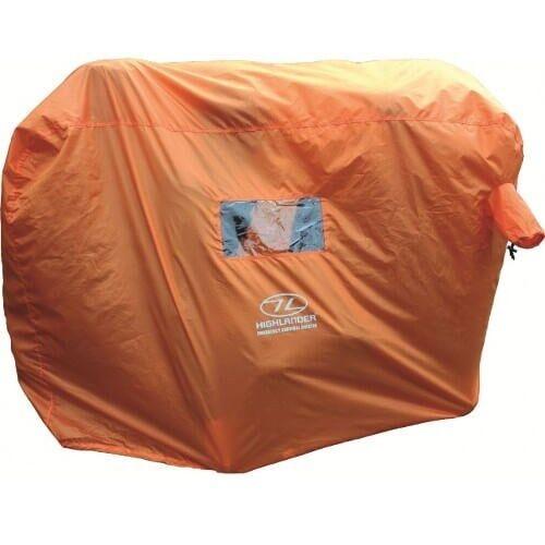 Highlander noodtent Emergency Survival Shelter 45 persoons  Oranje