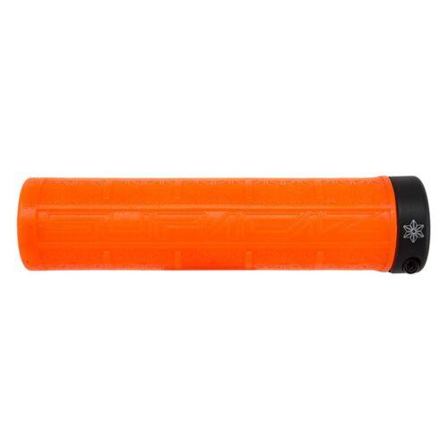135Mm Supacaz Grizips Lock-On Grips Grips /& Tape Neon Orange Clear//Black