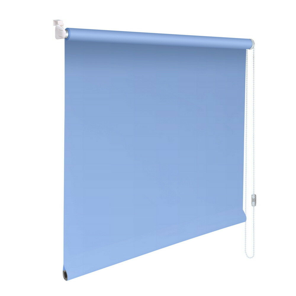 Mini-Rollo Klemmfix Klemmrollo Easyfix Abdunkelung - Höhe Höhe Höhe 210 cm hellblau | Abrechnungspreis  2e9f25