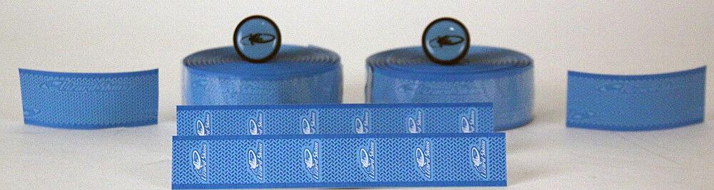 Lizard Skins Sky blueee DSP 2.5mm Durasoft Road Bike Wrap   Handlebar Tape New