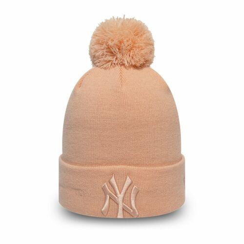 New Era KINDER Mädchen Wintermütze NY Yankees blush