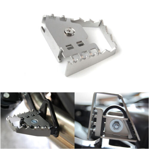 Aluminum Foot Brake Levers Pedal Extension For BMW R1200GS F800GS F700GS F650GS
