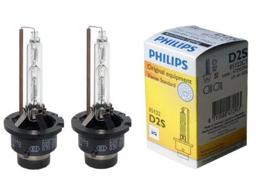 2x New PHILIPS D2S 4300K 85122 HID XENON Bulb Lamp Headlight BMW VW AUDI MB