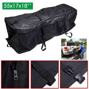 55x17x18-039-039-Car-Cargo-Roof-Top-Carrier-Bag-Rack-Storage-Luggage-Waterproof-Black