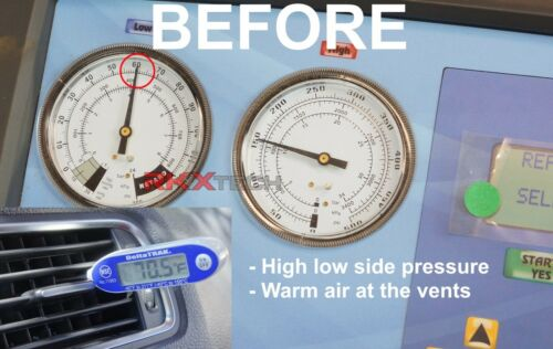AC Compressor Control Solenoid Valve For DENSO MK5 MK6 6SEU14C 7SEU16C VW