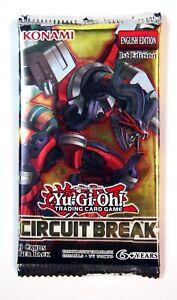 Konami Yu-Gi-Oh! TCG, Circuit Break booster Pack, New and Sealed