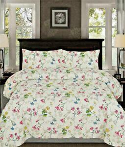 Queen Size Sheet Set Bedding 4 Piece 100/% Cotton Deep Pocket T500 Brown White