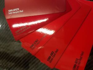 3m Gloss Satin Red 1080 Series Vinyl Car Wrap Sticker Decal Film