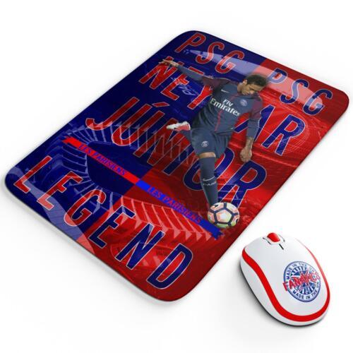 Neymar JR PSG Mouse Mat Pad Work Computer Gaming Football Legend Gift LG58