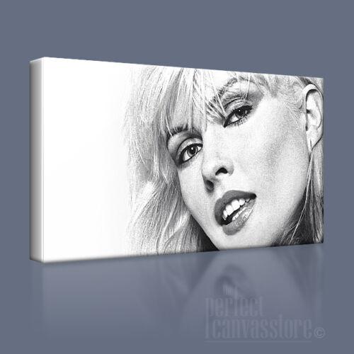 Blondie debbie harry magnifiquement attrayant emblématique toile art imprimé art williams