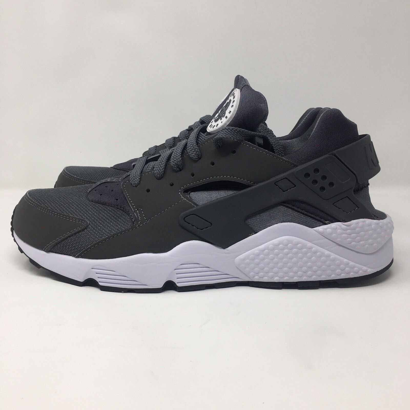 6b463368a0 Nike Air Huarache Mens Grey Athletic Running shoes Size 13 Dark 318429-037  nccbdx3664-Athletic Shoes