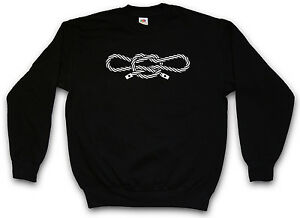 fd5960aa72bfd Image is loading NARCOS-HANDCUFF-KNOT-SWEATSHIRT-PULLOVER-SWEATER-Sailor-039 -