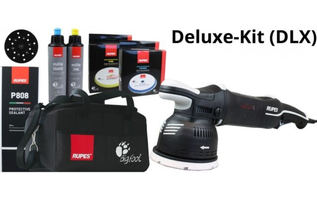 RUPES LK900E/DLX ROTO-EXZENTER POLIERMASCHINE LK900E BIGFOOT KIT DLX