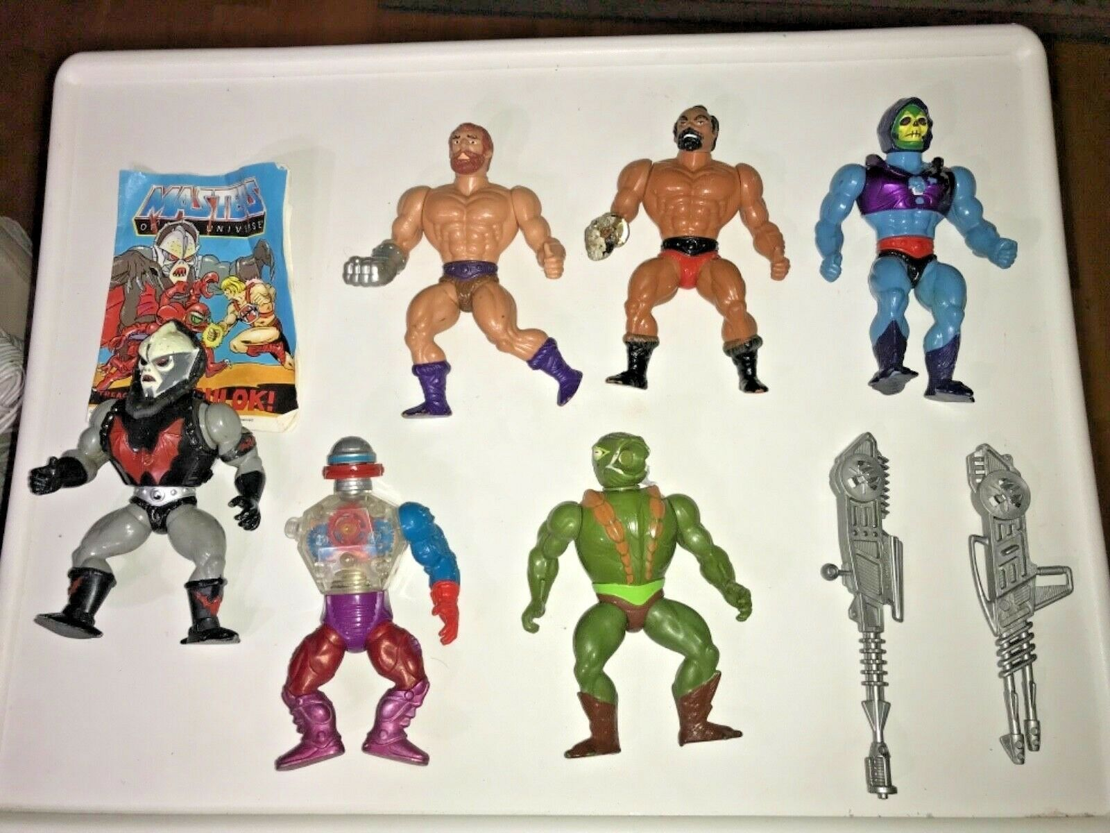 Vintage He-Man Master Of the Universe Figures   SIX Total