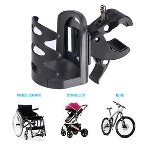 Beverage-Drink-Cup-Holder-Universal-For-Wheelchair-Walker-Rollator-Bike-Stroller