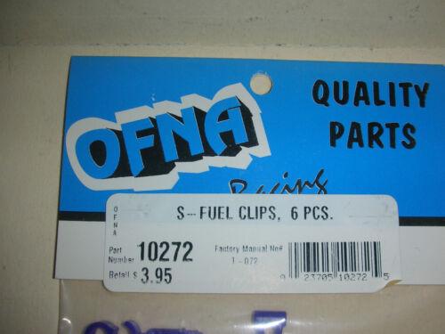 6 pcs G 11 #10272 New!!! OFNA S-Fuel Clips RC Parts