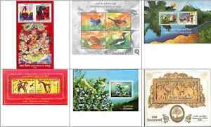 2006-Miniature-Sheets-Year-Pack-set-of-6-different-MS