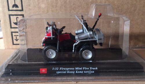 """DIE CAST /"""" FIREXPRESS MINI TRUCK SPECIAL/"""" VIGILI DEL FUOCO DEL PRADO  SCALA 1//32"""