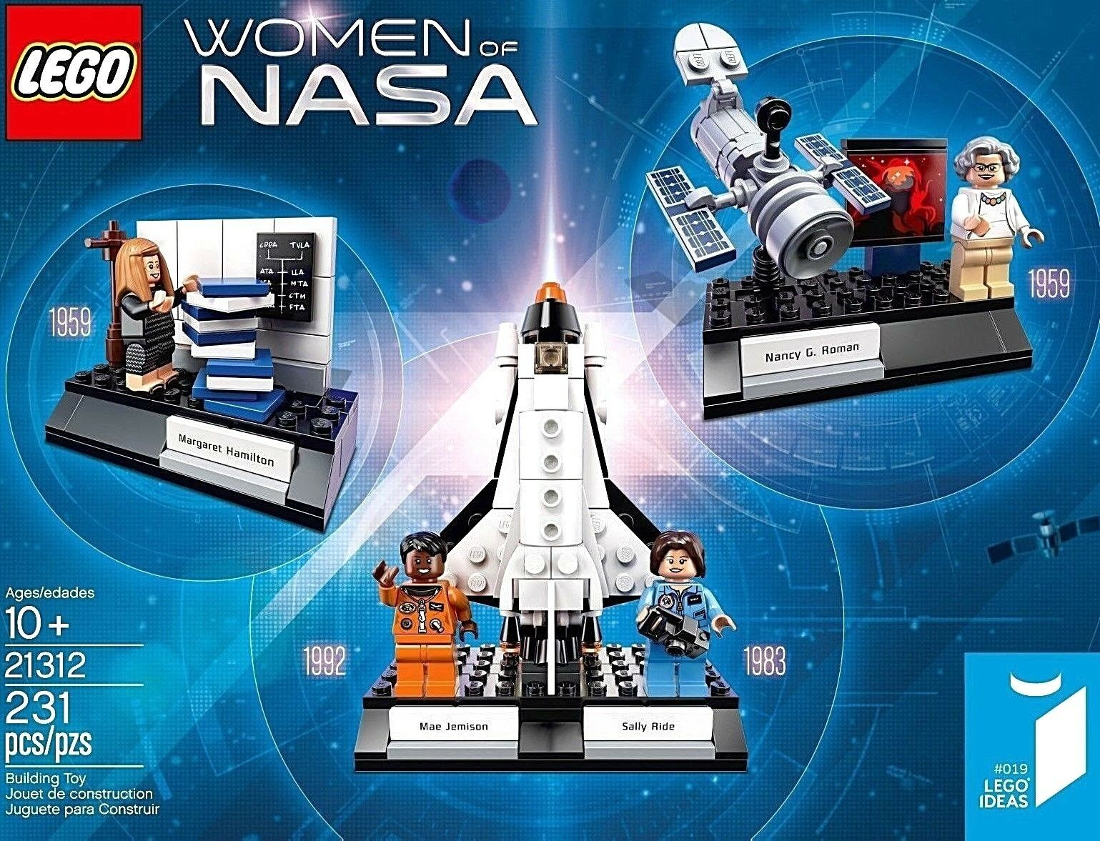 LEGO Ideas 21312 Damens of Nasa ⚡ FREE SHIPPING     ⚡