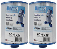 2 Unicel 6ch-940 Waterway Vita Aber Spa Filter Replacement Cartridges 6ch940 on sale