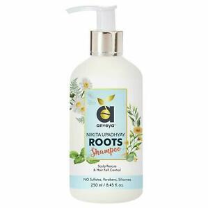 Anveya Roots Shampoo for Hair Fall Control & Scalp Rescue 250ml