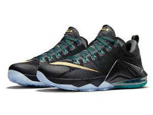 new york fdd5c 88624 Image is loading Nike-LeBron-XII-12-Low-SVSM-size-12-