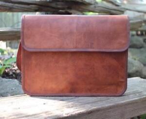 Leather-Bag-Distressed-Messenger-Shoulder-Men-Satchel-Laptop-women-Briefcase-bag