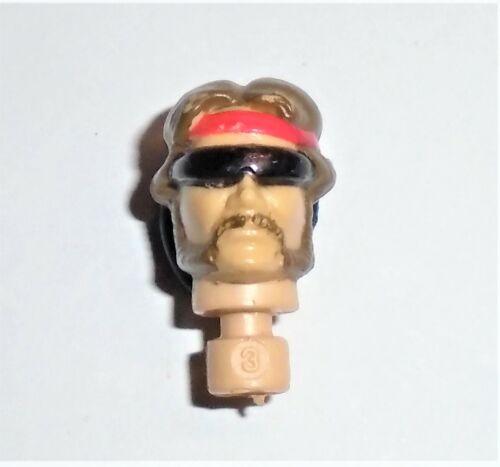 Dreadnok Torch          Head           C8.5 Very Good GI Joe Body Part 1985