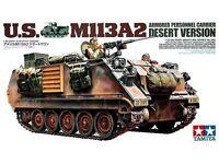TAMIYA U.S. Desert  M113A2 Armored Personnel Carrier Plastic Model Kit 1/35
