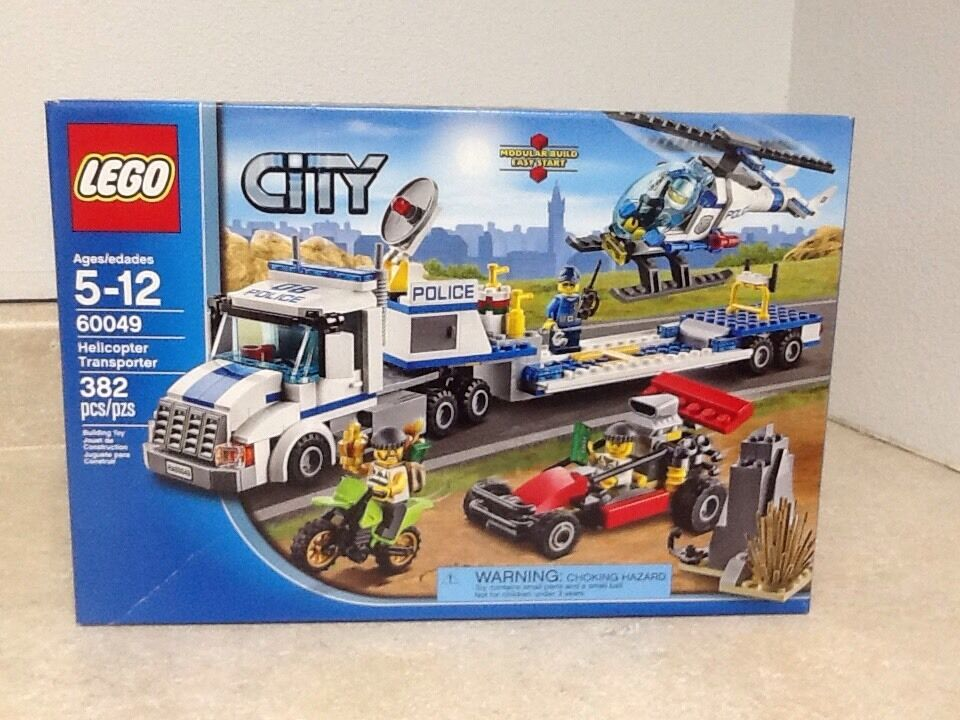Lego City Helicopter Transporter  60049 RETIROT