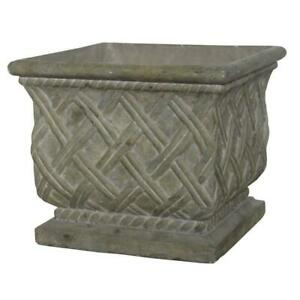 17-75-in-square-old-stone-cast-stone-lattice-planter