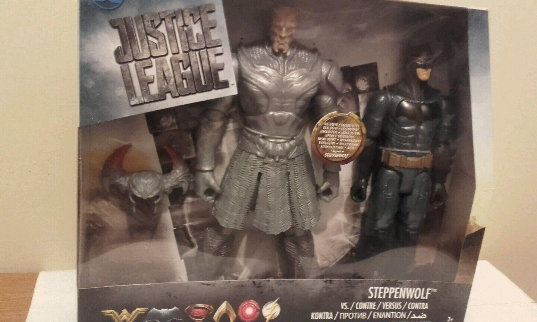 Justice league steppenwolf vs batman figures unopened