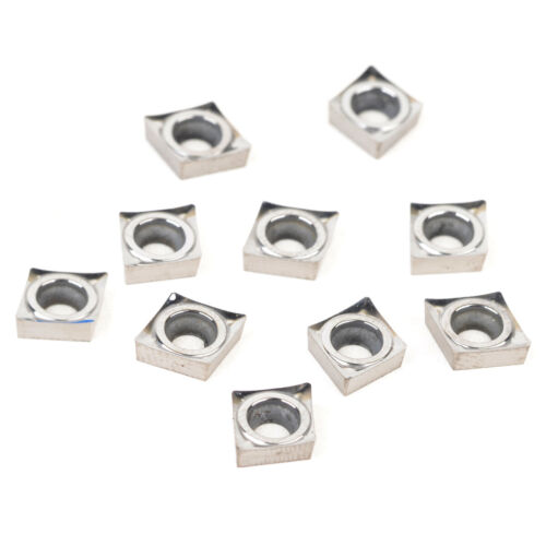 10 CCGT060204-AK H01CCGT21.51-AK H01 Wendeschneidplatten Drehmeißel Drehen xs