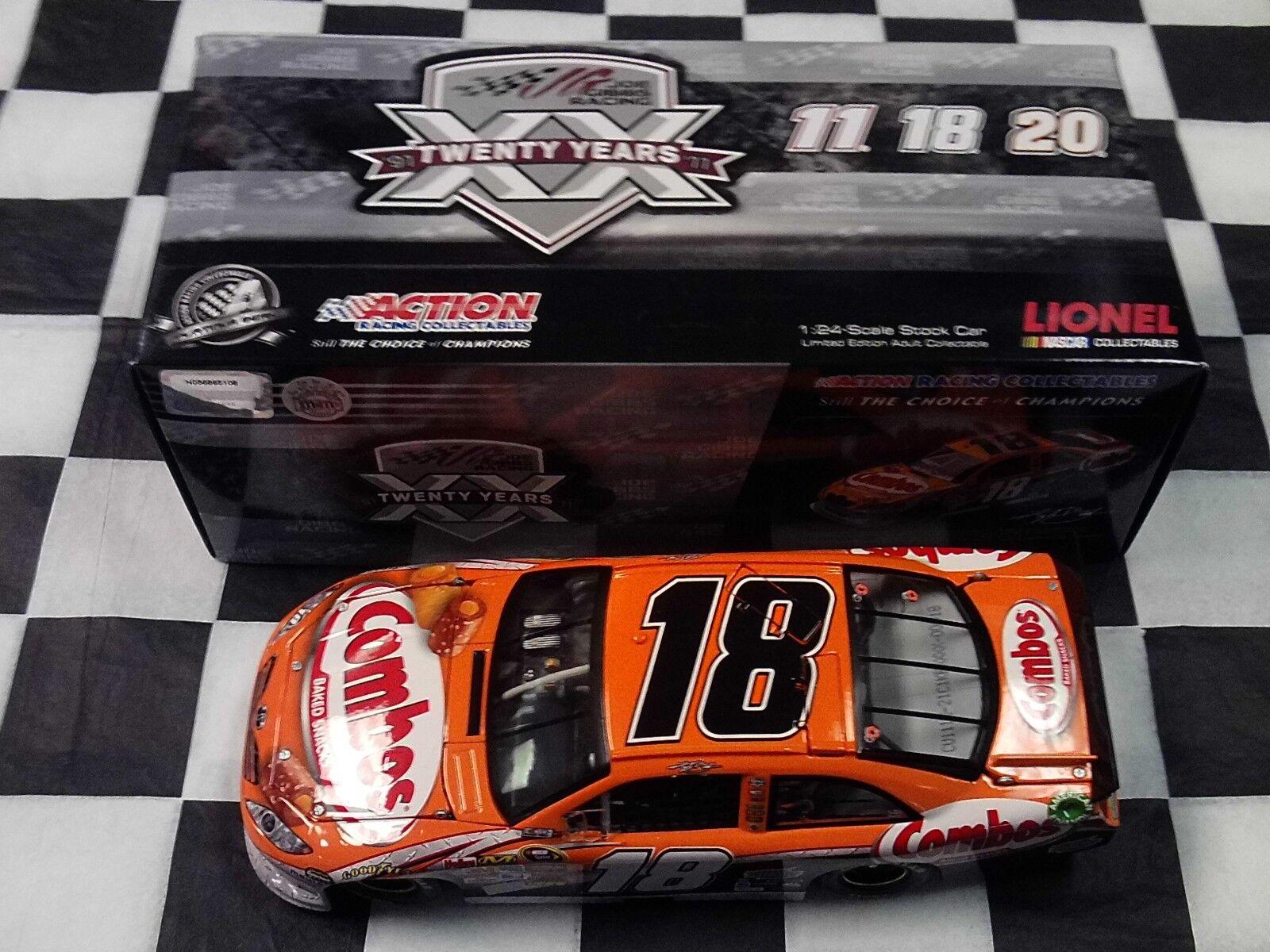 Kyle Busch  18 COMBO's Combos 2011 Camry Action échelle 1 24 Voiture C18121C1KB NASCAR
