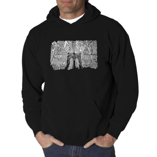 Men/'s Brooklyn Bridge Hooded Sweatshirt