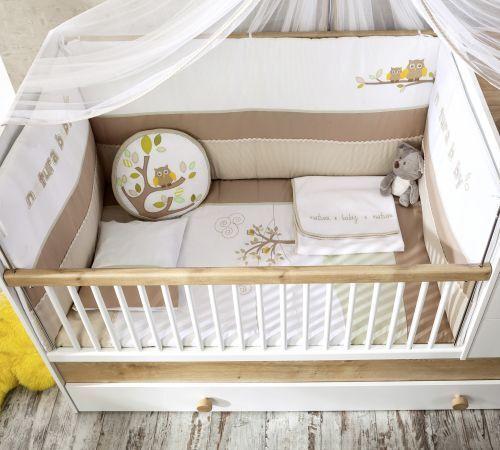 Cilek Natura Baby Bettwäsche-Set Bettwäsche-Set Bettwäsche-Set (75x115cm) f4b6b4
