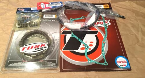 Honda CR80R CR85R Tusk Clutch Cover Gasket /& Cable Kit Springs