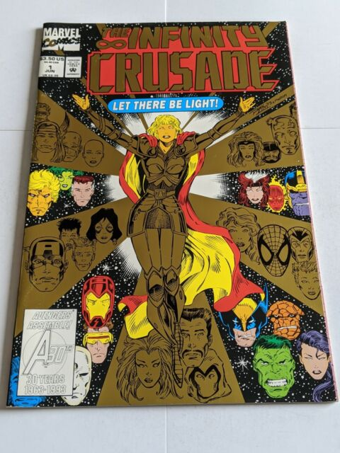 Infinity Crusade  #1 June 1993 Marvel Comics 1st Foil Cover