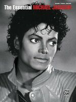 The Essential Michael Jackson Sheet Music Piano Vocal Guitar Songbook 000701517
