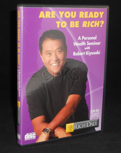Kiyosaki Rare Rich Dad CD Are You Ready to Be Rich ?