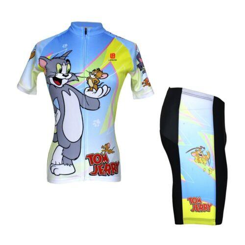 Funny Novelty Cycling Jersey Bib Short Set