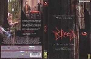The-Breed-La-Razza-Del-Male-DVD-Nuovo-Sigillato-Versione-Noleggio-Wes-Craven