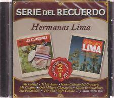 CD - Serie Del Recuerdo 2 En 1 Hermanas Lima (Sony Music 2017) BRAND NEW !
