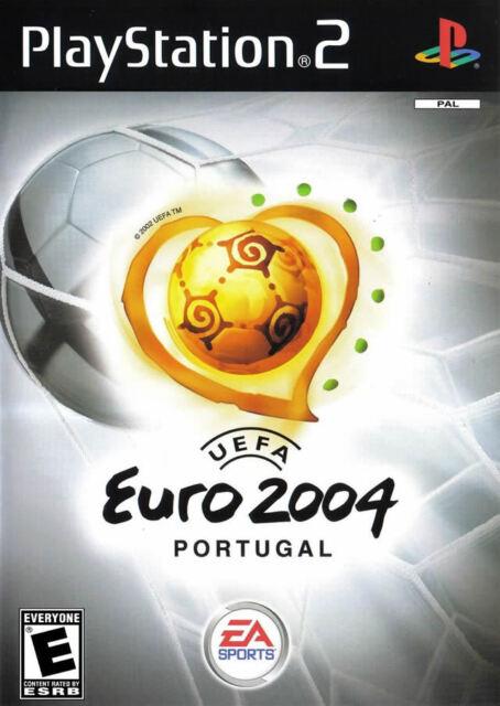 UEFA Euro 2004 (Soccer) PS2 New Playstation 2